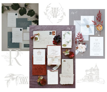 Custom Couture Wedding Invitations