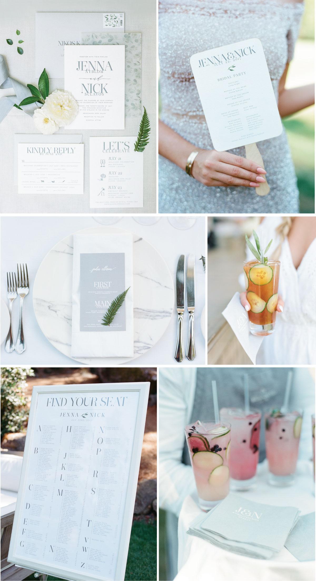 Jenna Light Custom Wedding Invitations
