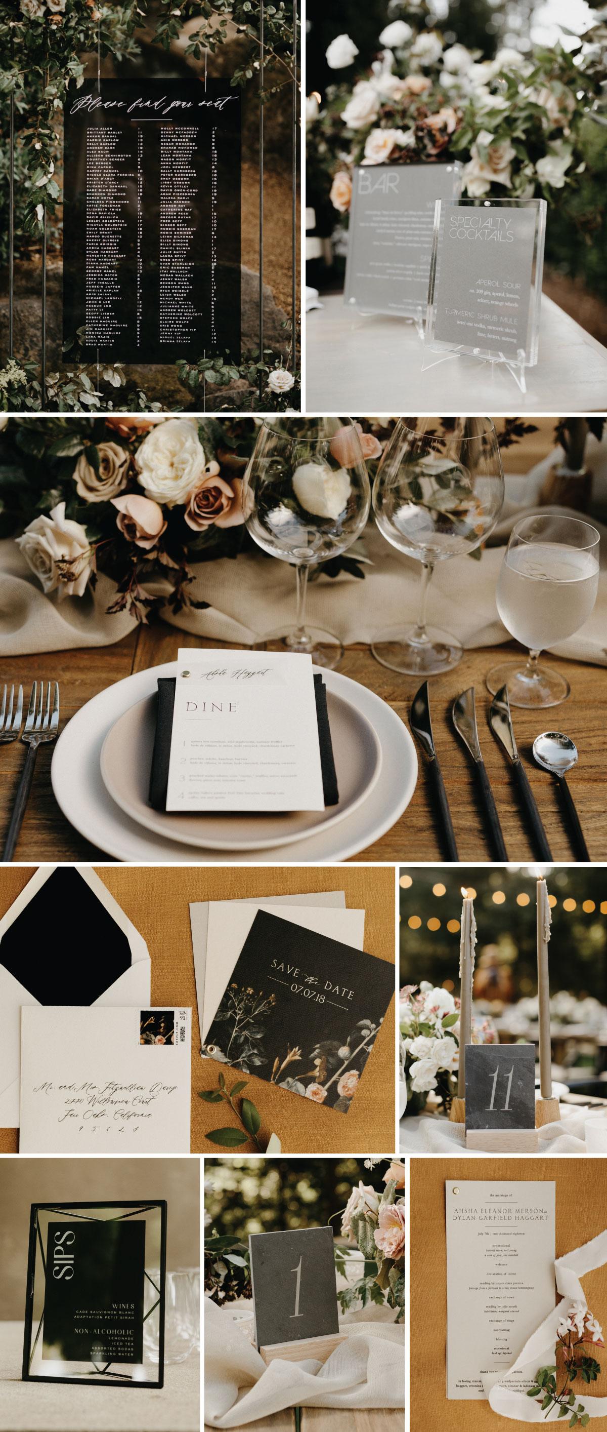 Ahsha Full Custom Wedding Invitations