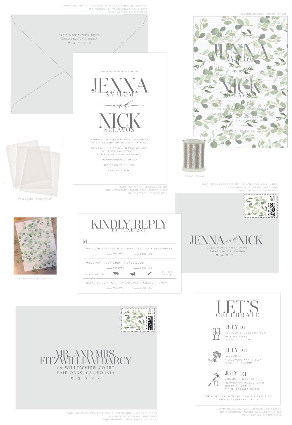Jenna Light Custom Design Board