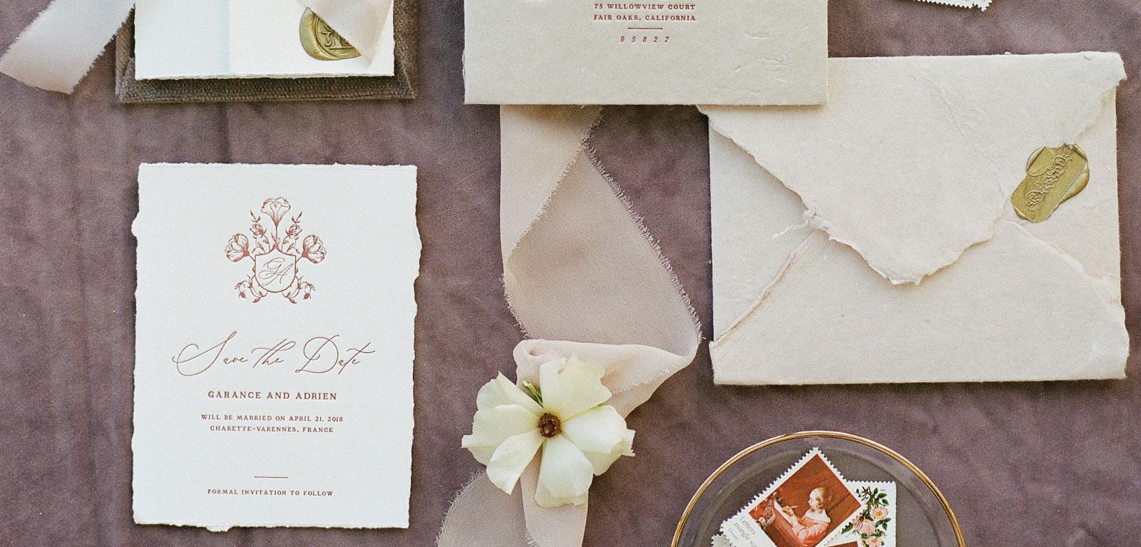 Whitney Full Custom Wedding Invitations