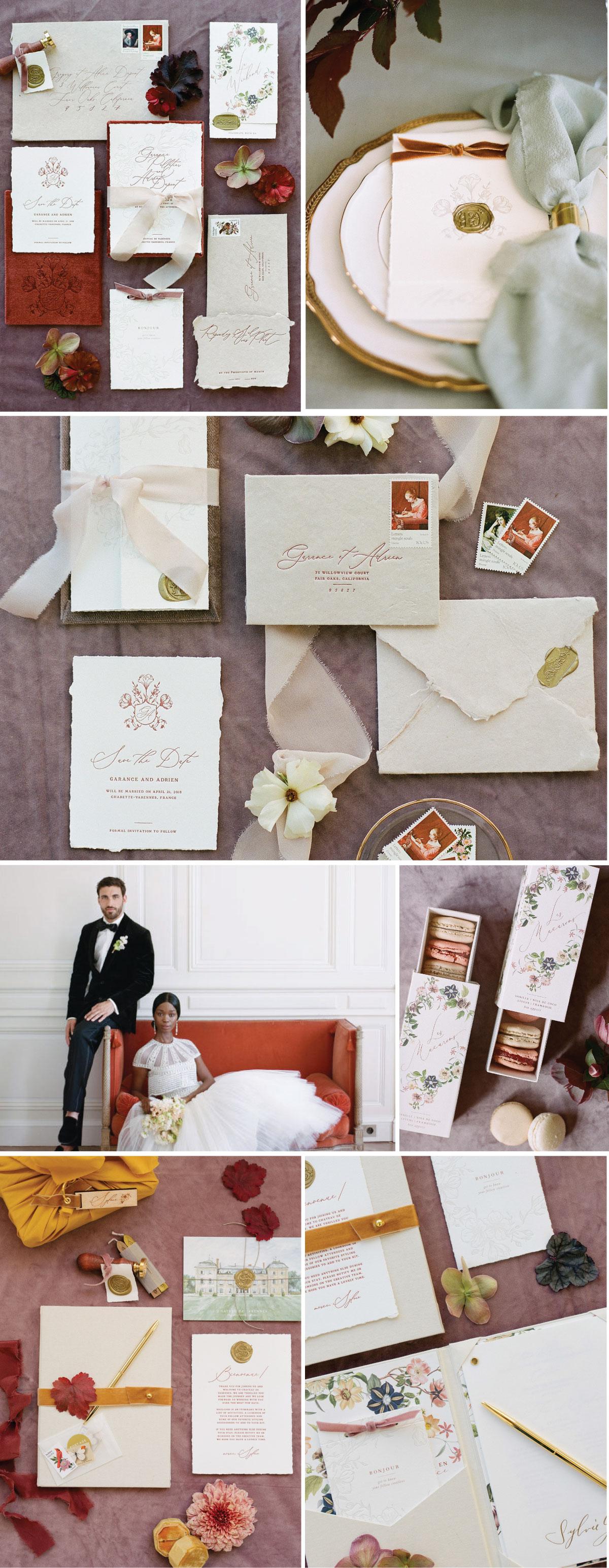 Kate Full Custom Wedding Invitations