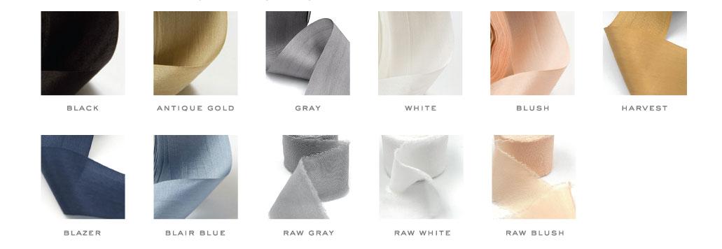 Silk Ribbon Options