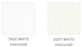 Paper Color Options   True White and Soft White