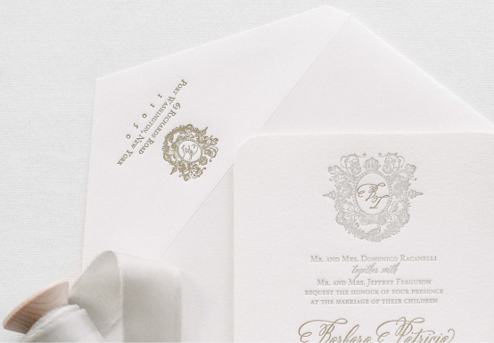 Anatomy of a Wedding Envelope | Return Address