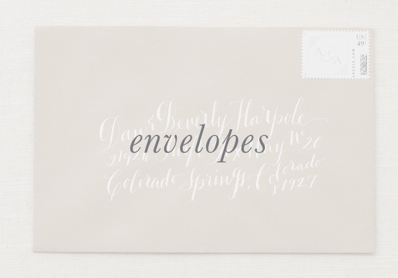Envelope button