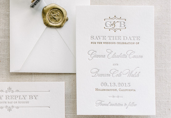 Anatomy of a Save the Date