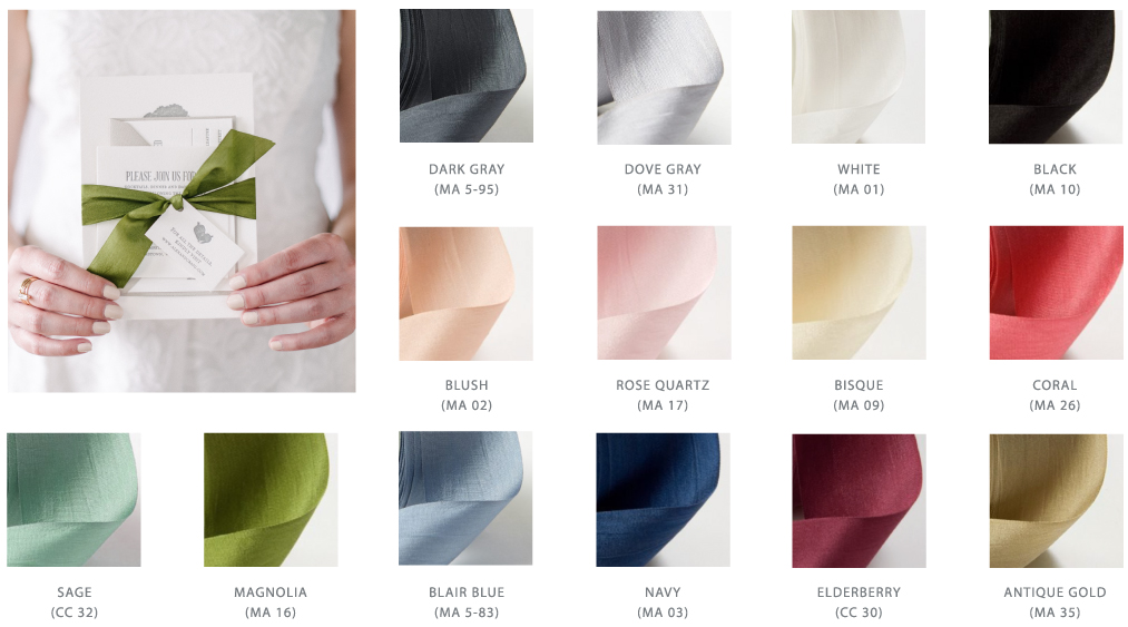 Silk Ribbon Options