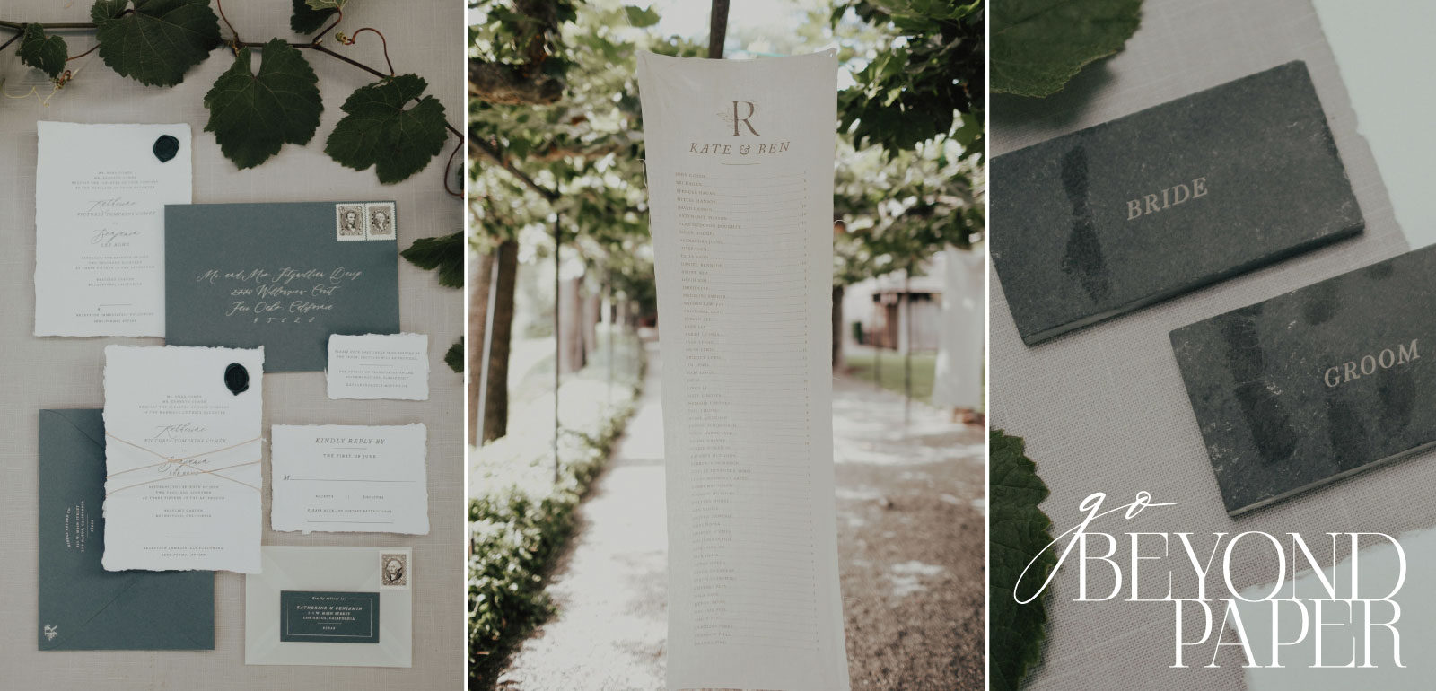 Custom Letterpress Invitation | Classic, Elegent, Romantic
