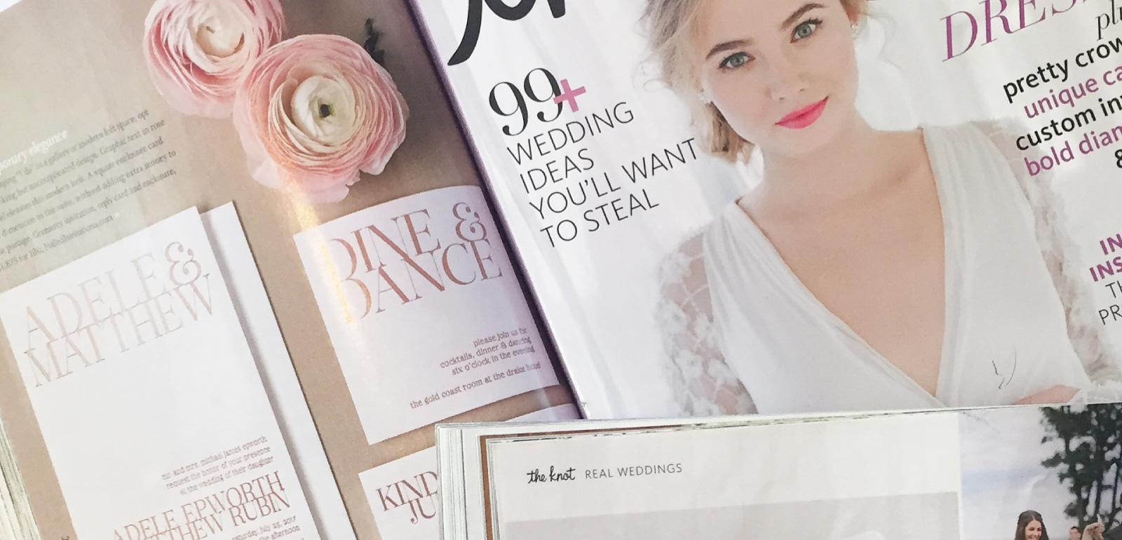 Notable Press | The Knot, Brides Magazine, Rue, Martha Stewart Weddings