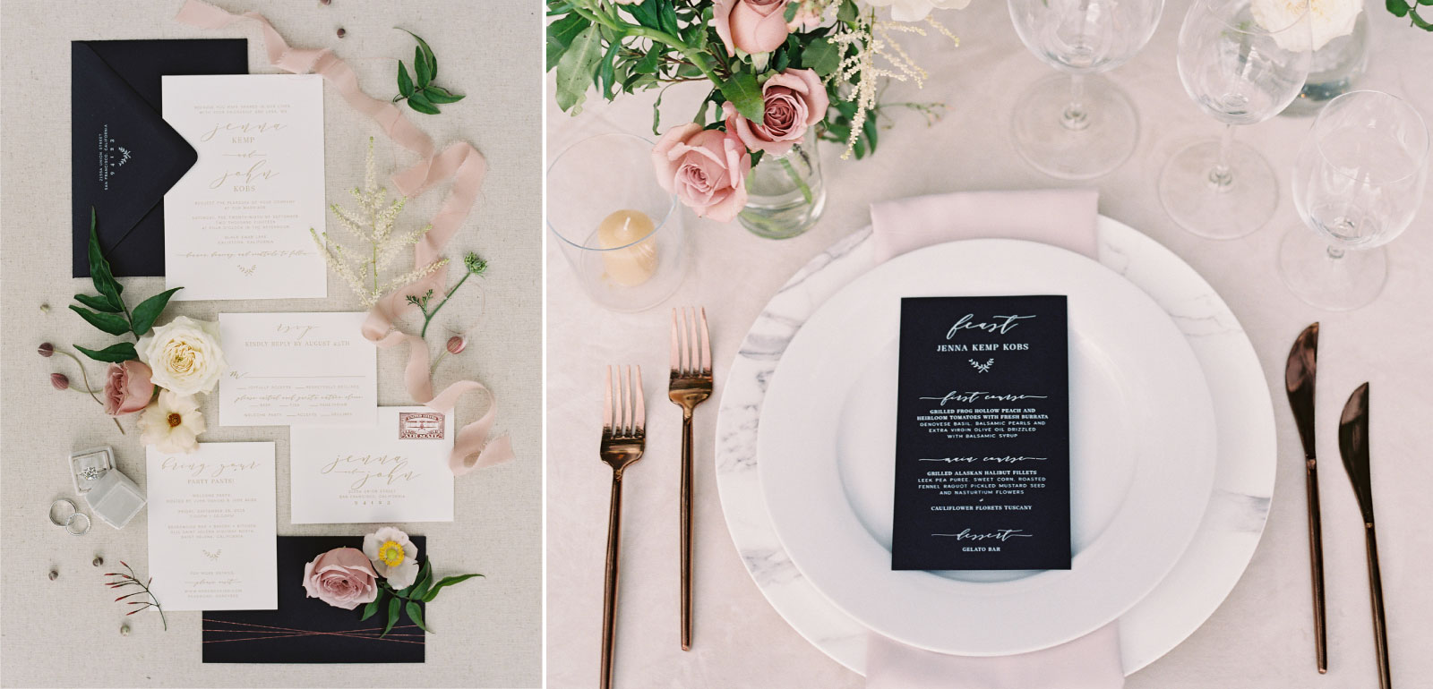 Digital Printing | Place Cards, Escort Cards, Menus, Programs and Signage